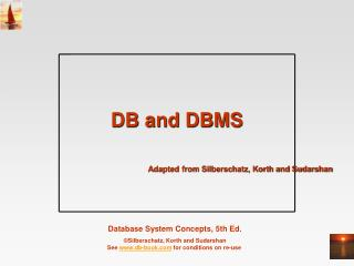 DB and DBMS