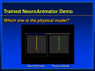Trained NeuroAnimator Demo