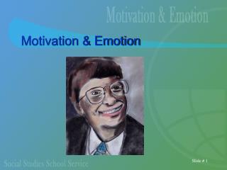 Motivation  Emotion
