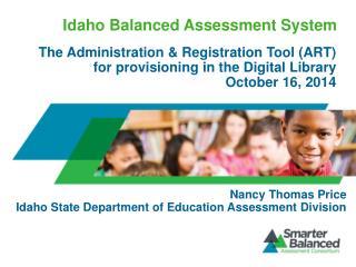 Idaho Balanced Assessment System