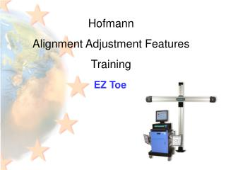 Hofmann Alignment Adjustment Features Training