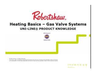basic heat gas valves