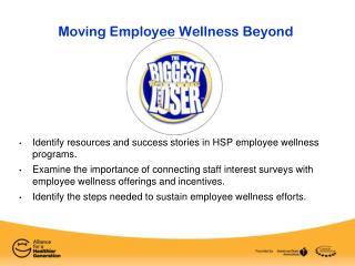 Moving Employee Wellness Beyond