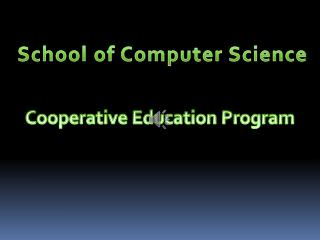 Cooperative Education Program