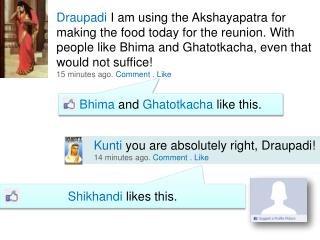 Bhima and Ghatotkacha like this.