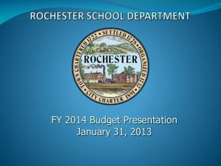 ROCHESTER SCHOOL DEPARTMENT