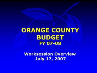 FY 07-08 Budget