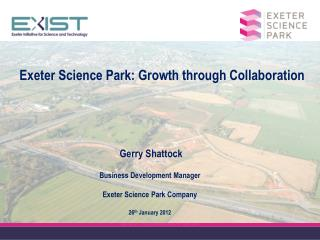 Exeter Science Park: Growth through Collaboration