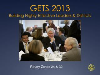 GETS 2013  Building Highly-Effective Leaders & Districts