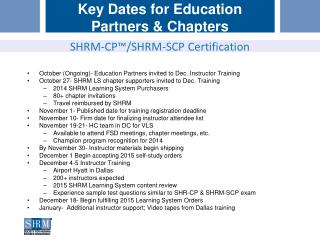 SHRM-CP™ /SHRM-SCP Certification