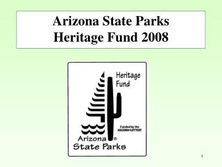 Download Heritage Fund Distribution Information FY 2008