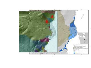Basins adjacent to HC river mouths
