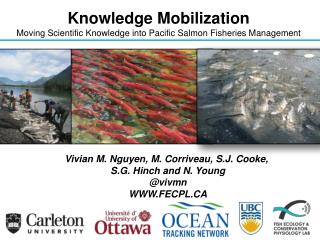 Knowledge Mobilization Moving Scientific Knowledge into Pacific Salmon Fisheries Management