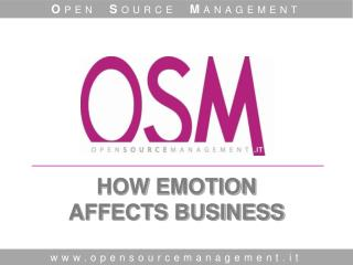 HOW EMOTION  AFFECTS BUSINESS