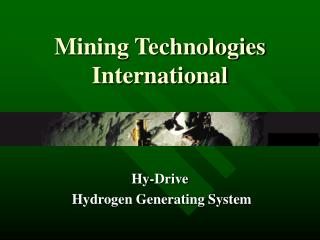 Mining Technologies International