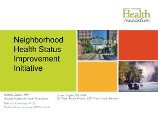 Neighborhood Health Status Improvement Initiative