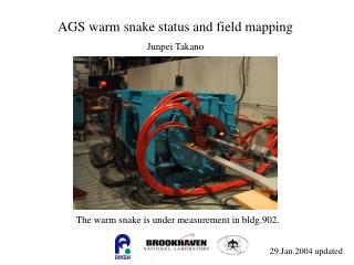 AGS warm snake status and field mapping
