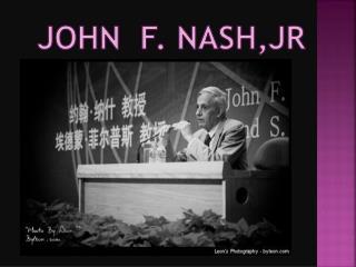 J ohn   F . Nash,Jr