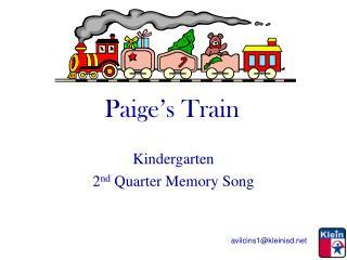 Paige's Train