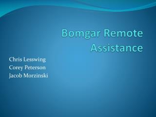 Bomgar  Remote Assistance