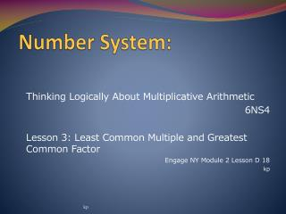 Number System:
