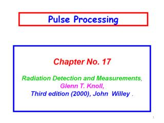Ch 17 GK I	    Linear and Logical Pulse II  	      Instruments Standard