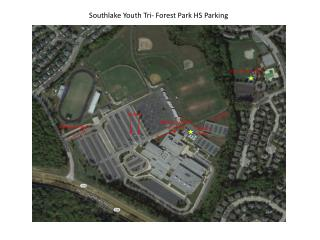 Southlake Youth Tri- Forest Park HS Parking