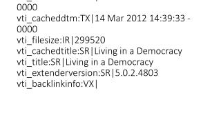 2. Living in a Democracy revision ku