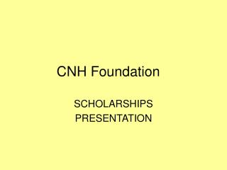 CNH Foundation