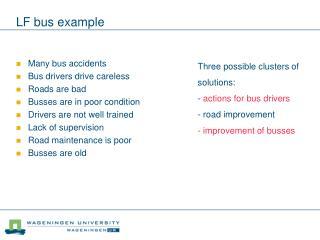 LF bus example