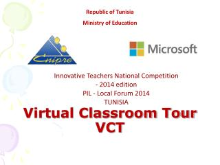 Virtual Classroom Tour  VCT