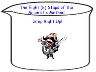The Eight (8) Steps of the Scientific Method
