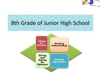 8th Grade of Junior High School