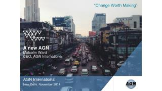 AGN International New Delhi, November 2014