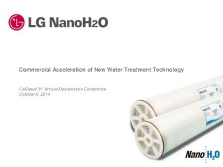Commercial Acceleration of New Water Treatment Technology