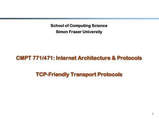 School of Computing Science Simon Fraser University