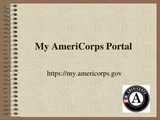 My AmeriCorps Portal