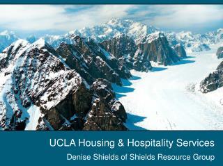 UCLA Housing & Hospitality Services