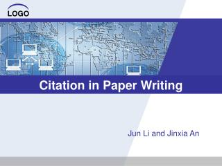 Citation in Paper Writing
