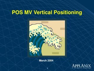 POS MV Vertical Positioning