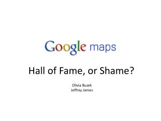 Hall of Fame, or Shame?