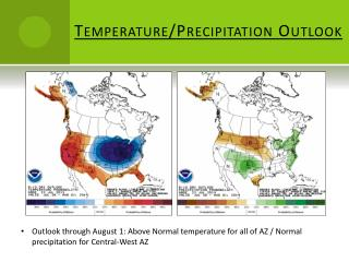 Temperature/Precipitation Outlook