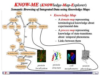 KNOW-ME ( KNOW ledge- M ap- E xplorer ) Semantic Browsing of Integrated Data using Knowledge Maps