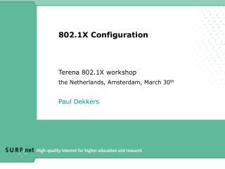 802.1X Configuration