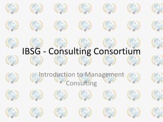 IBSG - Consulting Consortium
