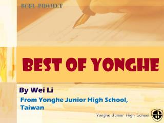 Best of Yonghe
