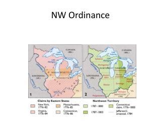 NW Ordinance