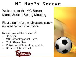 MC Men's Soccer