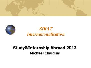 ZIBAT  Internationalisation