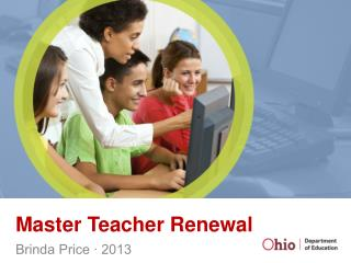 Master Teacher Renewal